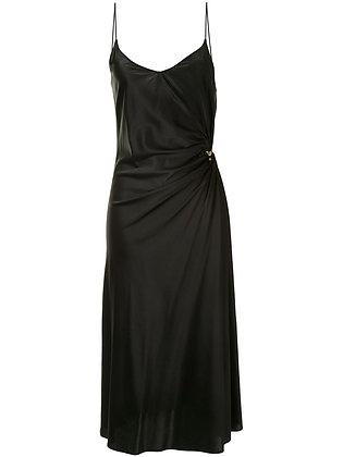 Christopher Esber Ruched Orbit Cami Dress - Black