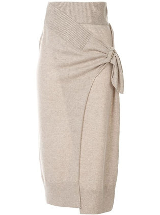 Christopher Esber Drape Tie Skirt