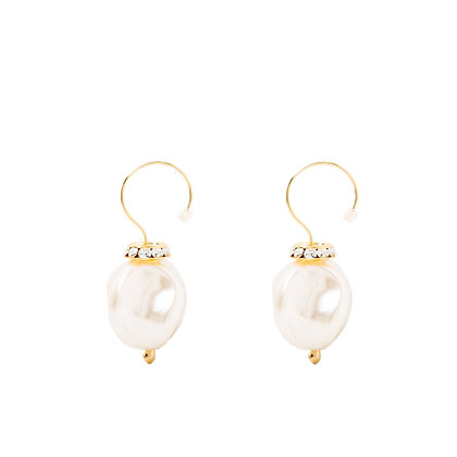 Beaufille Twisted Pearl Earing