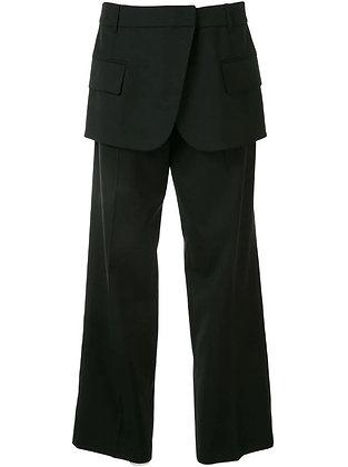 Goen.J Blazer motif pants