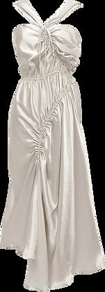 Shaina Mote Lilac Dress - White