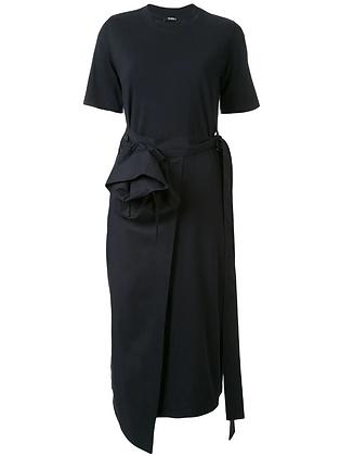Goen.J Overlay Wrap Dress