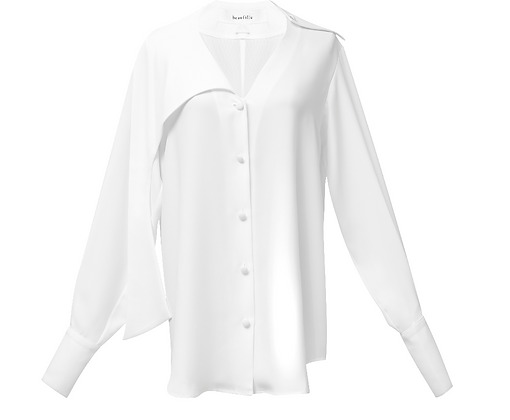 Beaufille Crepe Vernon Blouse