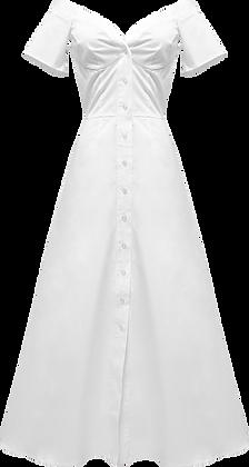 Sid Neigum Off Shoulder Dress