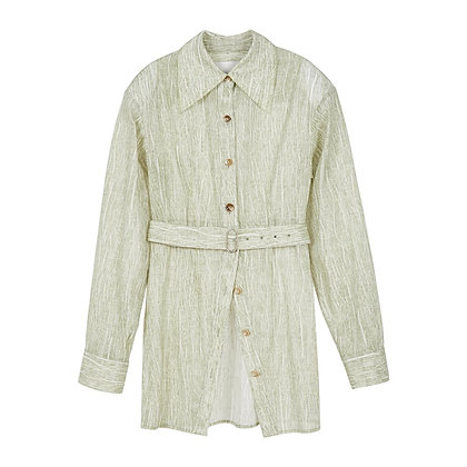 Andersson Bell Messi Belted Shirt