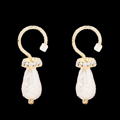 Beaufille Teardrop Pearl Ara Earing