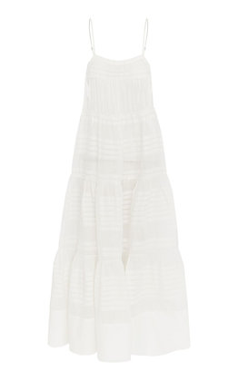 Lee Mathews Gigi Cami Dress - White