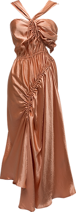 Shaina Mote Lilac Dress - Orange