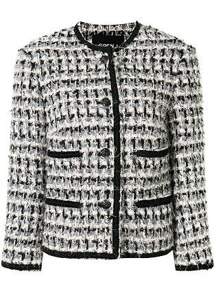 Goen.J Bouclé Tweed Jacket