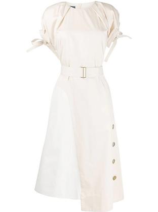 Eudon Choi  Lena Dress A Cotton Sateen