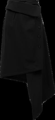 Sid Neigum Asymmetrical Wrap Skirt