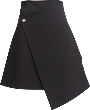 Ellery Boyd Wrap Skirt With Loveheart Detail