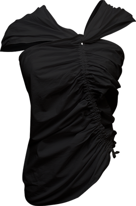 Shaina Mote Lilac Top - Black