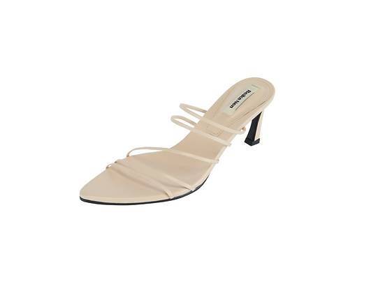 Reike Nen 5 Strings Pointed Sandals - Beige