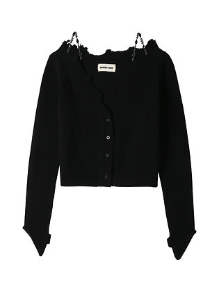 Shushu/Tong Raw Edge Cardigan