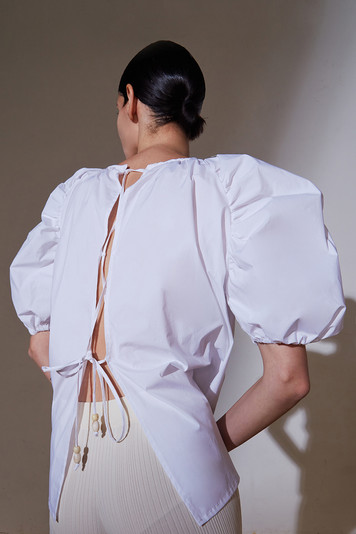 Puff Sleeves Blouse Off White 6.jpg
