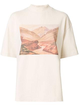 Goen.J Landscape Print T-shirt