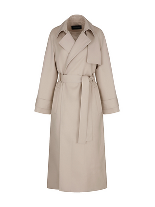 Kindersalmon Simple Trench Coat