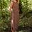 Goen.J Asymmetric pleated dress - Brown