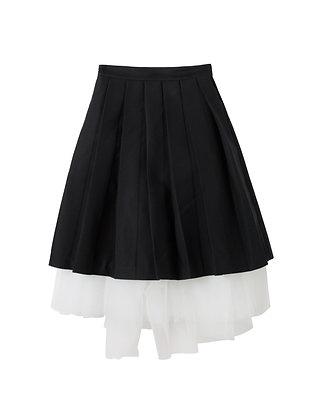 Shushu/Tong Volume Pleats Skirt