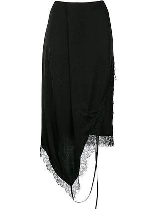 Goen.J Lingerie motif skirt