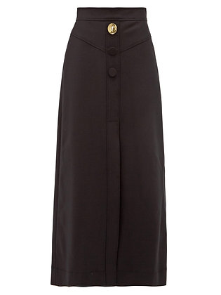 Ellery Homework A Line Yoke Skirt
