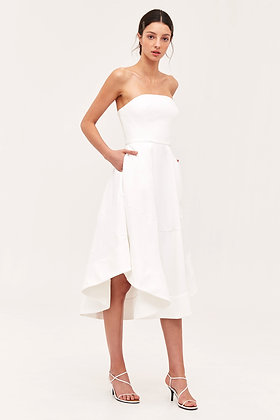 C/MEO Collective Beyond Control Dress - White