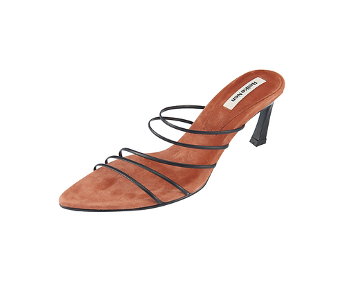 Reike Nen 5 Strings Pointed Sandals - Brown