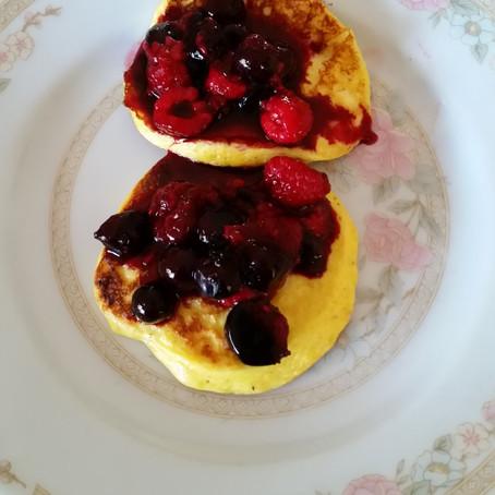 Recipe - Low Carb Pancakes