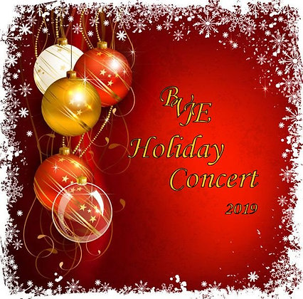 BVJE Holiday Concert 2019