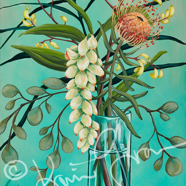 Ginger and Protea