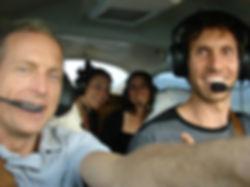 landing flying experience fun kauai