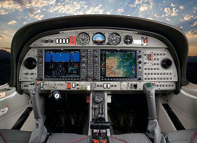 glass cockpit adventure luxurious