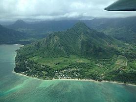 Air flight Kauai hawaii