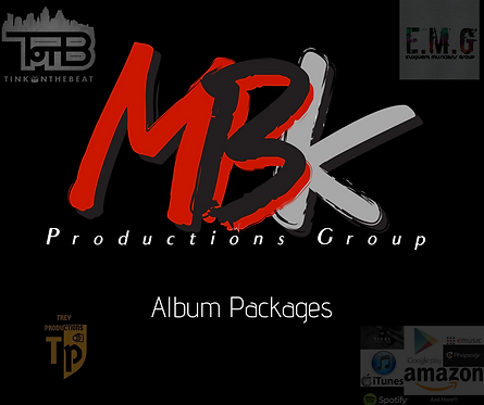 MBK Productions Group Album Packages