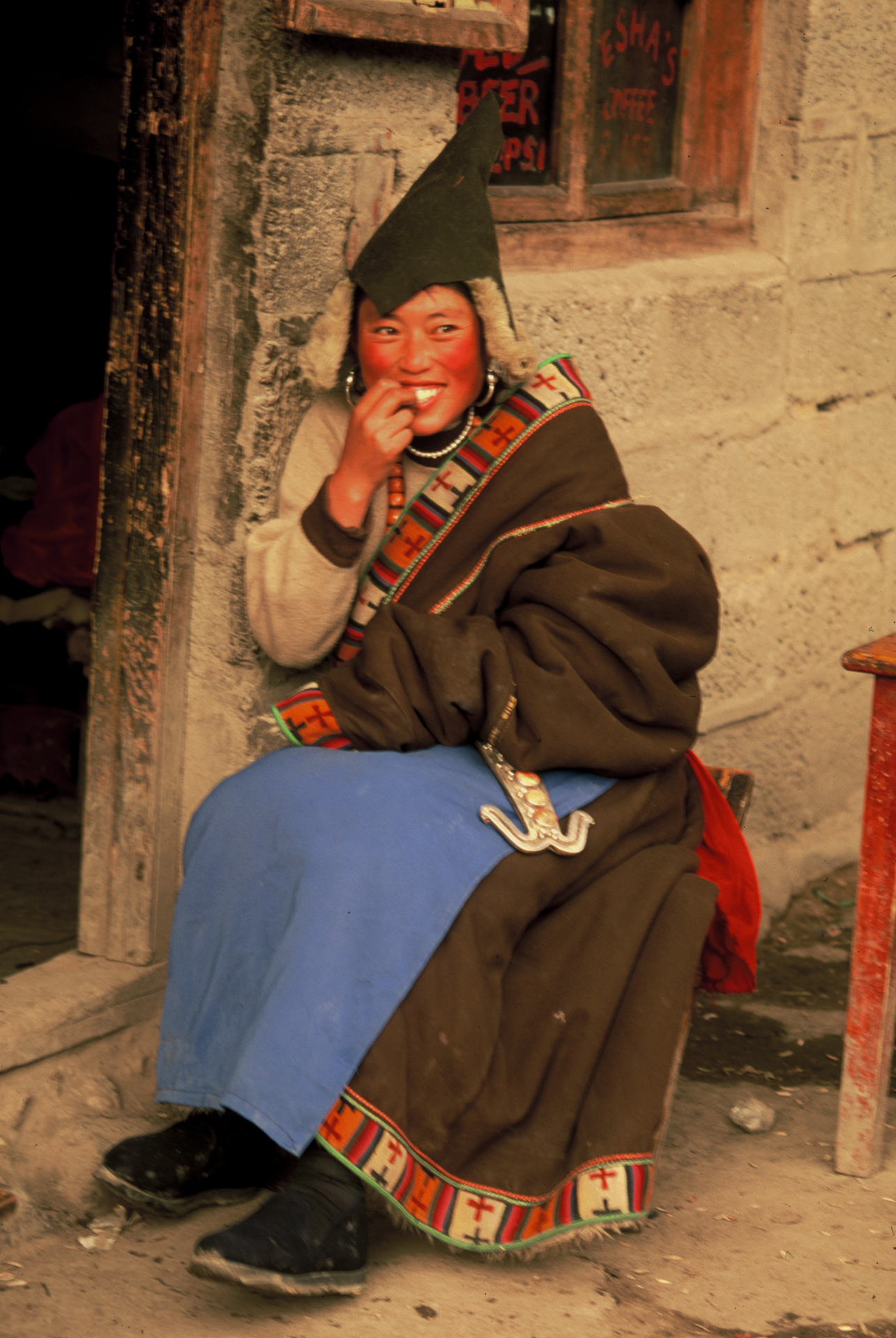 Tibetana, Langmussi. China