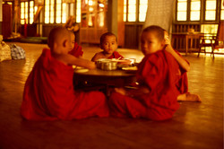 Desayuno. Myanmar