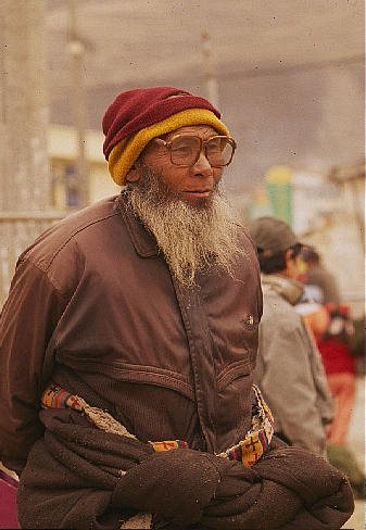 Viejo buenabarba, China