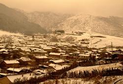 Langmussi. Oeste de China