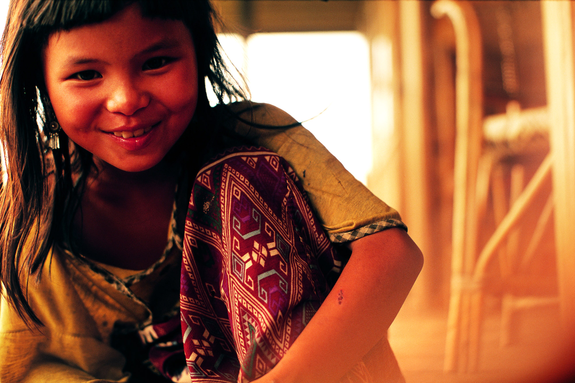 Muang Sing, Norte de Laos.