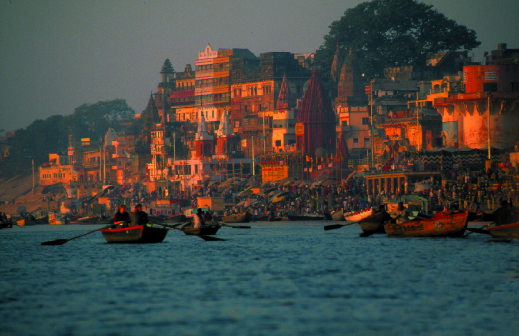 Ganges. Benares, India.