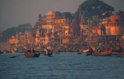 Ganges. Benares, India.