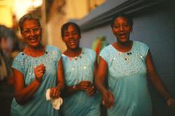 Cubanas bailando. Cuba