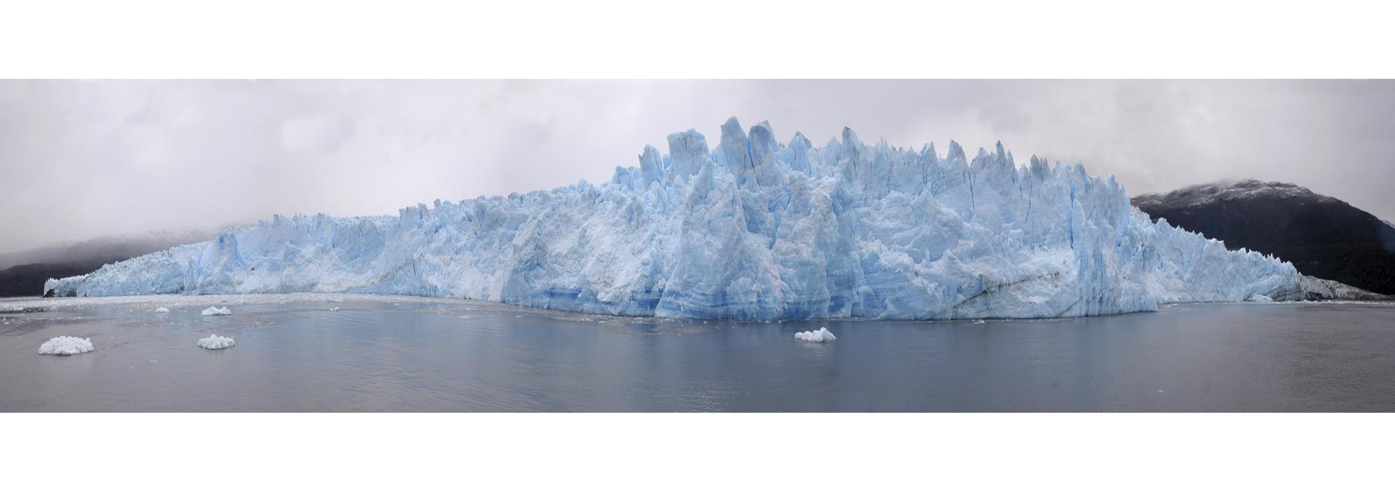 Glaciar Pio XI. Campos Hielo, Chile