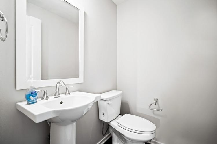 53 Bay Laurel - Half bathroom 2nd floor.