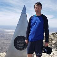 Guadalupe Peak, Texas; 8,750'