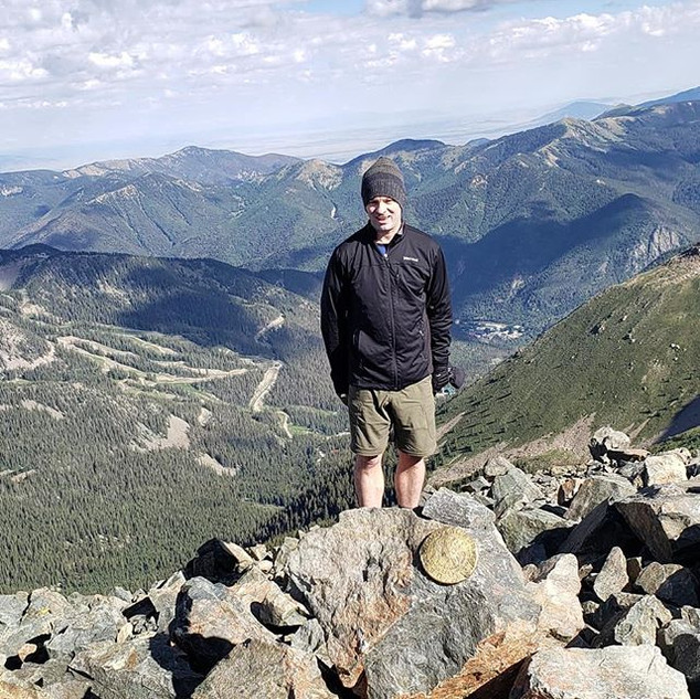 Wheeler Peak - Highest point in the State of New Mexico
