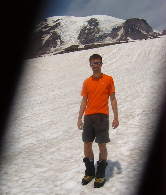 Mt. Rainier, Washington (14,411'). 2007