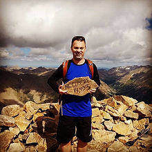 Top of Mt. Elbert - 2nd tallest peak in