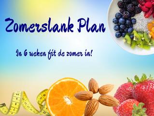 Zomerslank plan in 6 weken fit de zomer in!